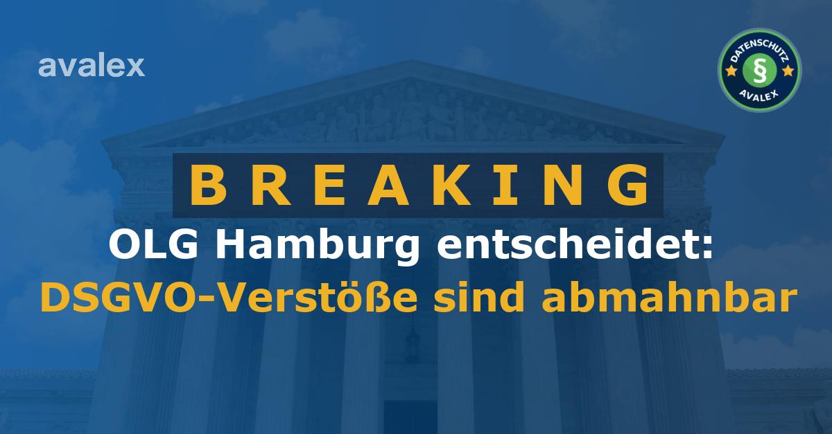 OLG Hamburg, Urteil vom 25.10.2018, 3 U 66/17
